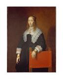 A Young Woman, 1643 Giclee Print by Bartolomeus Van Der Helst