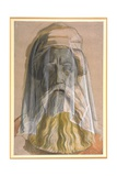 Bust of Charlemagne (747-814) 1846-47 Giclee Print by Alfred Rethel