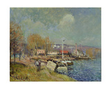 The Seine at Port-Marly, 1877 Giclee Print by Alfred Sisley
