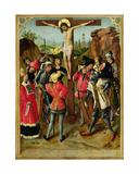 The Crucifixion, C.1460-75 Giclee Print by  Master of the Gathering of the Manna
