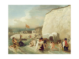 The Bathing Place at Ramsgate, C.1788 Giclee Print by Benjamin West