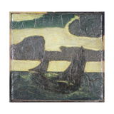 Sailboats Giclee Print by Albert Pinkham Ryder