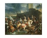 The Taking of Calais by Francis, 2nd Duke of Guise (1519-63) on 9th January 1558 Giclee Print by Francois Edouard Picot