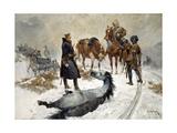 Cruel to Be Kind, 1882 Giclee Print by Richard Caton II Woodville