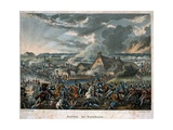 Battle of Waterloo 1815, Plate 29 from 'Wellington's Victories' Published by T.Tegg, 1818 Giclee Print by William Heath