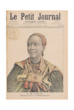 Portrait of the Taytu Betul (C.1851-1918) Empress of Ethiopia, from 'Le Petit Journal', 29th… Giclee Print by Henri Meyer