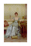 Vanity Giclee Print by Joseph Frederic Soulacroix