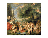 Worship of Venus Giclee Print by Peter Paul Rubens