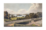 View, as Proposed to Be Altered, from the Portico of a Villa Near London, from 'Fragments on the… Giclee Print by Humphry Repton
