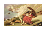 Ancient Briton Giclee Print by John Everett Millais