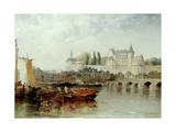 Amboise Sur Loire, 1889 Giclee Print by Arthur Joseph Meadows