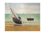 Low Tide at Grandcamp, 1885 Giclee Print by Georges Seurat