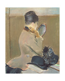 At the Milliner, C.1885 Giclee Print by Jean Louis Forain
