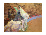 At the Circus Fernando, Rider on a White Horse, 1888 Giclee Print by Henri de Toulouse-Lautrec