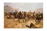 Maiwand 1880: Saving the Guns, 1882 Giclee Print by Richard Caton II Woodville