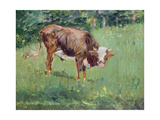 Young Bull in a Meadow, 1881 Giclee Print by Edouard Manet