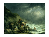 The Wreckers Giclee Print by George Morland