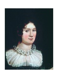 Claire Clairmont (1798-1879) 1819 Giclee Print by Amelia Curran