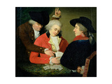 The Card Sharps Giclee Print by Rev. Matthew William Peters