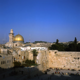 The Wailing Wall, Temple Mount Photographic Print