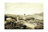 Grouse Shooting, from 'Ormes Collection of British Fieldsports', Engraved by J. Godby and H.… Giclee Print by Samuel Howitt