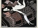 La Paresse, 1896 Reproduction procédé giclée par Félix Vallotton