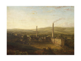 Lowerhouse Print Works, Burnley Giclee Print