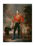 Lieutenant Colonel George James Mouat Macdowell, 16th Regiment of Light Dragoons, C.1848 Giclee Print by Edwin Longsden Long