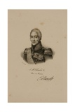 Portrait of Charles X (1757-1836) Giclee Print by Francois Seraphin Delpech