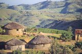 Zulu Village, Near Eshowe Photographic Print