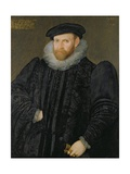 Sir Edward Grimston (1529-1610) as a Young Man Giclee Print by Robert, the Elder Peake