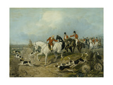 The Find, Engraved by Huffman and Mackrill Giclee Print by John Frederick Herring I