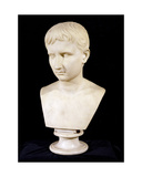 'The Young Octavian' Bust of the Emperor Augustus (63Bc-14Ad), C.1800 Giclee Print by Antonio Canova