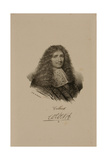 Portrait of Jean Baptiste Colbert (1619-83) Giclee Print by Francois Seraphin Delpech