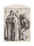 Retro Me Sathana, 1848 Giclee Print by Dante Gabriel Rossetti