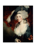 Mary Robinson (1758-1810) as 'Perdita' Giclee Print by John Hoppner