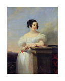 Portrait of Madame Vaussard Giclee Print by Claude-Marie Dubufe