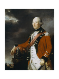 Portrait of an Officer of the 15th Regiment of Dragoons, C.1768 Giclee Print by Tilly Kettle