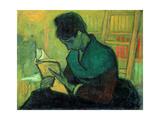 The Novel Reader, 1888 Giclee Print by Vincent van Gogh