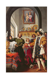 The Honesty of Saint Eligio, 1614 Giclee Print by Jacopo Chimenti Empoli