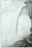 Niagara Falls, from 'Recueil Des Cartes Et Des Vues Du Voyage En Amerique En Italie En Sicile Et… Photographic Print by Edouard de Montule