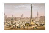 Trafalgar Square, C.1862 Giclee Print by Achille-louis Martinet