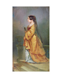 Portrait of George Sand (1804-76) 1849 Giclee Print by M.N. Makowicz