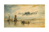 Mainz and Kastell, 1817 Giclee Print by Joseph Mallord William Turner