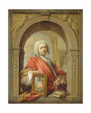 Self Portrait, 1727 Giclee Print by Jacques Ignatius De Roore