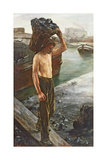 The Coal Carrier, 1882 Giclee Print by Henri Gervex