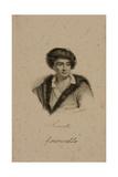 Portrait of Bernard Le Bovier De Fontenelle (1657-1757) Giclee Print by Francois Seraphin Delpech