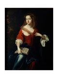 Frances (C.1665-1722) Countess of Scarborough Giclee Print by William Wissing