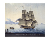 Brig Nancy Ann of Salem Leaving Naples, C.1810 Giclee Print by Michele Felice Corne