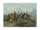 The Meet, Engraved by Huffman and Mackrill Giclee Print by John Frederick Herring I